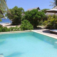 Отель Green Lodge Moorea Французская Полинезия, Папеэте - отзывы, цены и фото номеров - забронировать отель Green Lodge Moorea онлайн бассейн фото 2