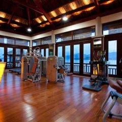 Отель Vinpearl Luxury Nha Trang Вьетнам, Нячанг - 1 отзыв об отеле, цены и фото номеров - забронировать отель Vinpearl Luxury Nha Trang онлайн фитнесс-зал фото 4