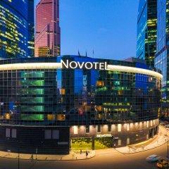 Гостиница Новотель Москва Сити вид на фасад фото 2