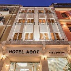 Отель Athos Греция, Афины - отзывы, цены и фото номеров - забронировать отель Athos онлайн вид на фасад