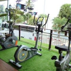 Отель The Beach Front Resort Pattaya фитнесс-зал фото 2
