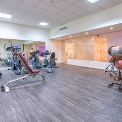 Апартаменты Melpo Antia Luxury Apartments & Suites фитнесс-зал фото 4