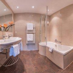 Отель Christiania Hotels & Spa Швейцария, Церматт - отзывы, цены и фото номеров - забронировать отель Christiania Hotels & Spa онлайн ванная