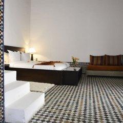 Отель Riad Azahra Марокко, Рабат - отзывы, цены и фото номеров - забронировать отель Riad Azahra онлайн комната для гостей фото 3