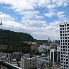 Апартаменты Myeongdong Studio балкон