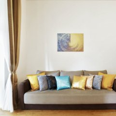 Апартаменты Charming Two-Bedroom Apartment Next To The Emmaus Abbey Прага комната для гостей фото 2