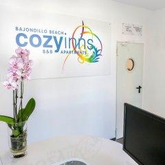 Отель Bajondillo Beach Cozy Inns - Adults Only интерьер отеля
