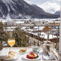 Отель Bernina 1865 Швейцария, Самедан - отзывы, цены и фото номеров - забронировать отель Bernina 1865 онлайн балкон