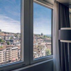 Отель Zurich Marriott Hotel Швейцария, Цюрих - отзывы, цены и фото номеров - забронировать отель Zurich Marriott Hotel онлайн комната для гостей фото 3