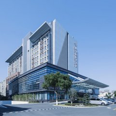 Shuguang International Hotel Kunshan парковка