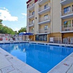 Отель Motel 6 Washington D.C. США, Вашингтон - отзывы, цены и фото номеров - забронировать отель Motel 6 Washington D.C. онлайн бассейн