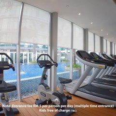 Отель Vortex KLCC Apartments Малайзия, Куала-Лумпур - отзывы, цены и фото номеров - забронировать отель Vortex KLCC Apartments онлайн фитнесс-зал