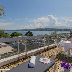Отель N'vY Manotel Швейцария, Женева - 1 отзыв об отеле, цены и фото номеров - забронировать отель N'vY Manotel онлайн балкон