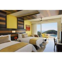 Отель Secrets Huatulco Resort & Spa 4* Полулюкс с двуспальной кроватью фото 2