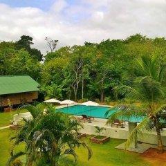 Отель Saji-Sami Шри-Ланка, Анурадхапура - отзывы, цены и фото номеров - забронировать отель Saji-Sami онлайн балкон