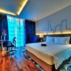 Отель Galleria 10 Sukhumvit Bangkok by Compass Hospitality 4* Стандартный номер с различными типами кроватей фото 9