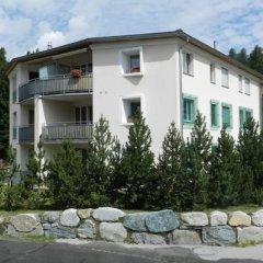 Отель Amanda Швейцария, Санкт-Мориц - отзывы, цены и фото номеров - забронировать отель Amanda онлайн вид на фасад