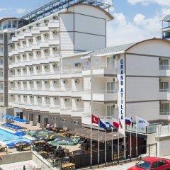 Grand Atilla Hotel Турция, Аланья - 14 отзывов об отеле, цены и фото номеров - забронировать отель Grand Atilla Hotel онлайн фото 2