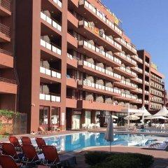 Отель Gladiola Star Болгария, Золотые пески - отзывы, цены и фото номеров - забронировать отель Gladiola Star онлайн бассейн фото 2