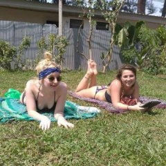 Hey beach hostel Ланта фитнесс-зал фото 2