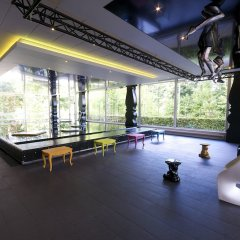 Отель Crowne Plaza Antwerp фитнесс-зал фото 4