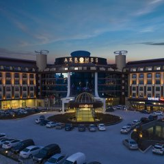 Akrones Thermal Spa Convention Hotel парковка