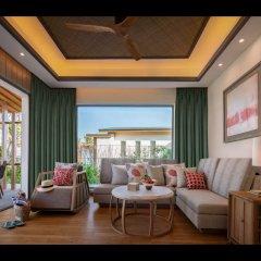 Отель Radisson Blu Resort Cam Ranh Вьетнам, Кам Лам - отзывы, цены и фото номеров - забронировать отель Radisson Blu Resort Cam Ranh онлайн комната для гостей фото 3