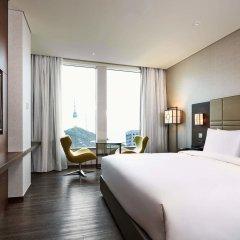 Отель Courtyard by Marriott Seoul Namdaemun Южная Корея, Сеул - отзывы, цены и фото номеров - забронировать отель Courtyard by Marriott Seoul Namdaemun онлайн комната для гостей