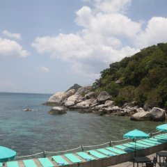 Отель Koh Tao Hillside Resort пляж