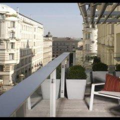 Отель Boutique Hotel Das Tigra Австрия, Вена - 2 отзыва об отеле, цены и фото номеров - забронировать отель Boutique Hotel Das Tigra онлайн балкон