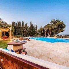 Отель Bello Blu Luxury Villa Родос бассейн