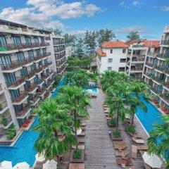 Отель Baan Laimai Beach Resort балкон