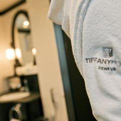 Отель Tiffany Швейцария, Женева - 1 отзыв об отеле, цены и фото номеров - забронировать отель Tiffany онлайн ванная фото 2