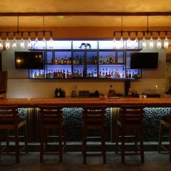Hotel Hacienda Santana гостиничный бар