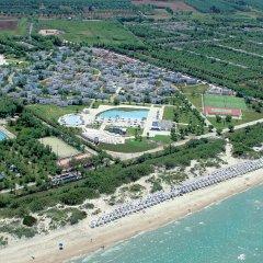 Отель Happy Camp Torre Rinalda Camping Village Лечче пляж