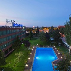 Отель Meliá Barajas Испания, Мадрид - отзывы, цены и фото номеров - забронировать отель Meliá Barajas онлайн балкон