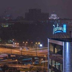 Отель Radisson Blu Old Mill Belgrade балкон