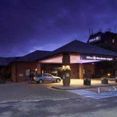 Отель Hilton Manchester Airport Манчестер вид на фасад