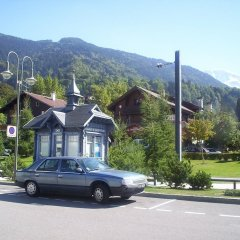 Hotel des 2 Gares in Saint-Gervais-les-Bains, France from