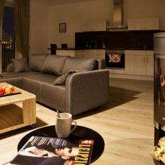 Отель Leipzig Apartmenthaus комната для гостей фото 3