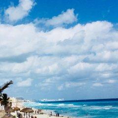 Отель Condominios Brisas Cancun Zona Hotelera пляж
