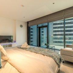 Апартаменты Airbetter-Dubai Downtown Superior Studio Дубай балкон