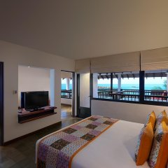 Отель Hikka Tranz by Cinnamon Шри-Ланка, Хиккадува - 2 отзыва об отеле, цены и фото номеров - забронировать отель Hikka Tranz by Cinnamon онлайн комната для гостей фото 5