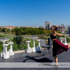 Отель Hf Fenix Music Лиссабон приотельная территория фото 2