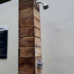 Отель Sayab Hostel Мексика, Плая-дель-Кармен - отзывы, цены и фото номеров - забронировать отель Sayab Hostel онлайн ванная