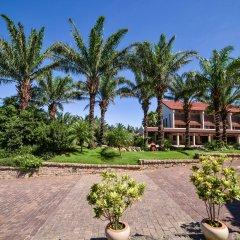 Отель Palm Garden Beach Resort And Spa Хойан парковка