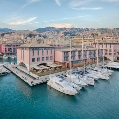 Отель Nh Collection Marina Генуя приотельная территория