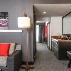 Отель Embassy Suites Mexico City Reforma Мехико комната для гостей