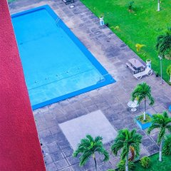 Апартаменты Sky Blue Beach Studio at Turtle Tower бассейн фото 2