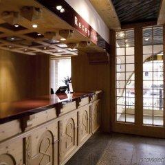 Отель Morosani Posthotel Швейцария, Давос - отзывы, цены и фото номеров - забронировать отель Morosani Posthotel онлайн интерьер отеля